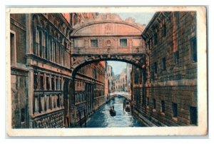 Bridge of Sighs, Venice Italy, Famous Bridges, Echte Wagner German Trade Card