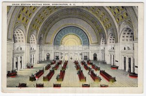 Washington, D.C., Union Station Waiting Room