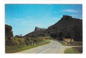 Twin Bluffs Wisconsin Highway Route 61 Vintage WI Postcard Helen O'Brien Photo
