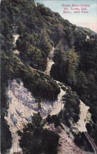 California Mount Lowa Horse Shoe Curve