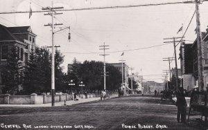 RP; Central Avenue , Prince Albert , Saskatchewan , Canada , PU-1912
