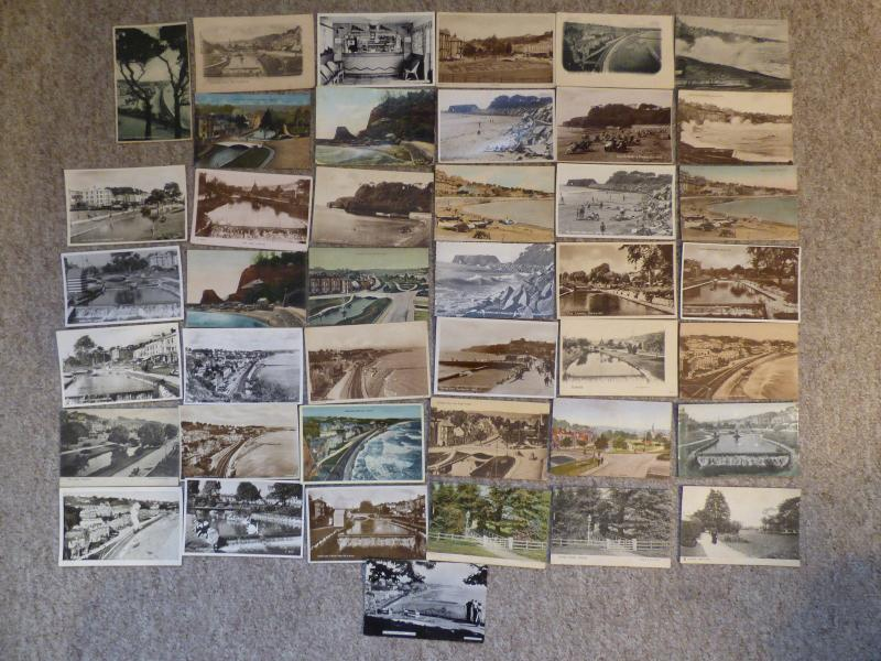 bu0096 - Dawlish , Devon - 42 postcards - All Showing
