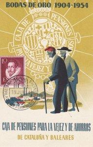 Spain , Bodas de Oro 1904-1954
