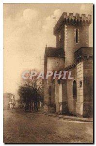 Postcard Ancient Church fortif?e Courcon Aunis