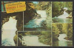 Pennsylvania. Bushkill - Winona Five Falls - [PA-419]
