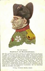 Metamorphic NAPOLEON BONAPARTE the Man-Eater, Menschenfresser Cannibal (1910s)