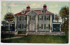 Longfellow's House, Cambridge MA