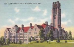 Ohio Toledo Side and Front View  Toledo University