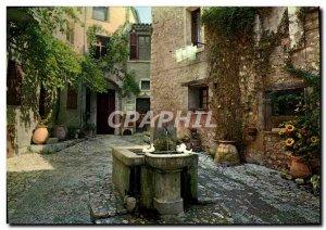 Postcard Moderne Saint Paul Cote d & # 39Azur Fernch Riviera The plot Fontain...