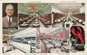 CHICAGO, Illinois; 10-20s; Multi-Views, J. H. Ireland Oyster House