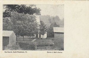 SOUTH WOODSTOCK , Vermont , 1900-10s ; The Church