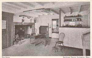 Massachusetts Lexington Tap Room Buckman Tavern