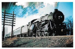 Jersey Central Railroad Baldwin 4-6-2 Pacific Locomotive 821