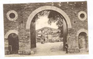 RP; Blankenburg, a. h. Blick auf den Domanenhof, Saxony-Anhalt, Germany, 00-10s