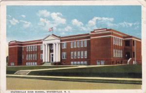 Statesville High School, STATESVILLE, North Carolina, PU-1924