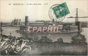 Old Postcard Marseille Fort St John