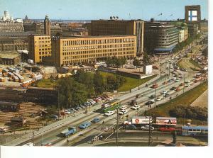 Postal 050404 : Cinco Contienentes. Helsinki (Finlandia). Calle Mannerheim