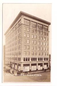 Real Photo, Street Scene, Canada Building, Saskatoon, Saskatchewan, AZO