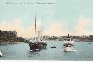 STOCKHOLM , Sweden , 00-10s ; Port of Entrance , Ships
