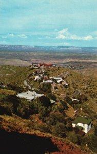 Jerome Hog Back, Arizona, AZ, Jerome High School, Vintage Postcard g5719