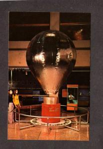 MA Hot Air Balloon Museum of Science Boston Mass Massachusetts Postcard PC