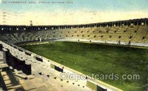 Cambridge, Mass. Stadium, Soldiers, Field, Foot Ball, Football, Stadium, Stad...