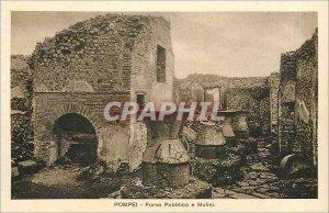Postcard Ancient Pompeii Pubblico Forno e Mulini