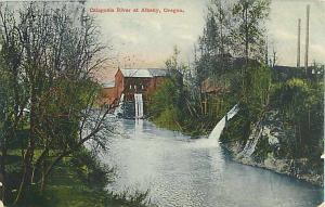 Calapooia River at Albany Oregon OR 190? Divided Back