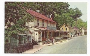 St Peters Village PA General Store Main Street Vintage Postc
