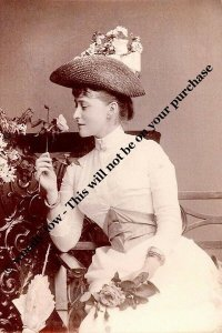 mm775 - Princess Ella of Hesse wife Grand Duke Sergie Romanov - Royalty photo
