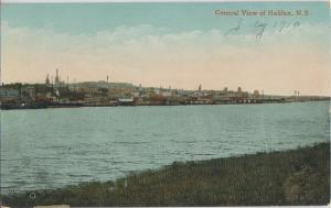 HALIFAX Nova Scotia CANADA - SKYLINE river view 1910s era