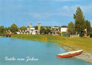 Gruesse vom Zicksee St. Andra Sonderkrankenanstalt Lake Boat