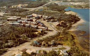 Canada - Northwest Territory, Yellowknife. Aerial View
