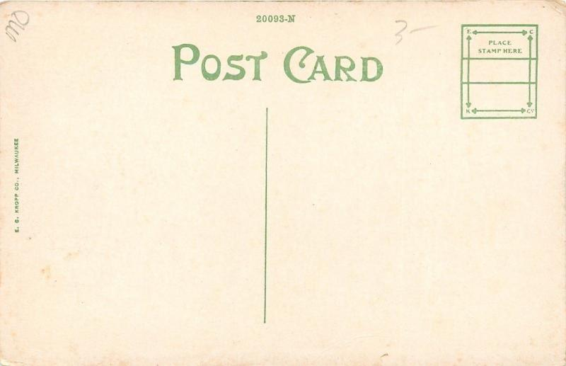 WWI~Camp Custer~Battle Creek MI~Army Roll Call~85th Division~1918 Post Card