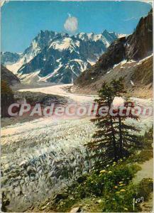 Modern Postcard Chamonix (Haute Savoie) French mountaineering Capital Montenv...