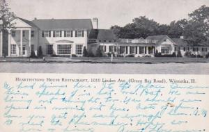 Illinois Winnetka Hearthstone House Restaurant 1947