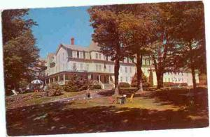 Lakeside Lodge, New London, New Hampshire, NH, 1955? Chrome