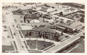 Real Photo Postcard Aerial View Headquarters at Fort Lewis, Washington~130610