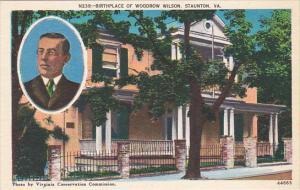 Birthplace Of Woodrow Wilson Stauton Virginia