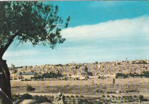 Jordan Panorama Of Jerusalem 1960