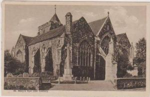 St. Mary's, 12th Century, Rye, East Sussex England 1900-10s