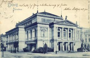 germany, LEIPZIG, Concerthaus, Theater (1898)