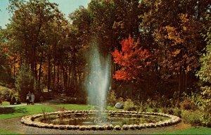 New York Tuxedo Sterling Forest Gardens The Raintree Fountain