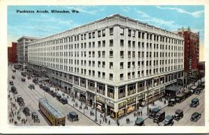 Wisconsin Milwaukee The Plankinton Arcade