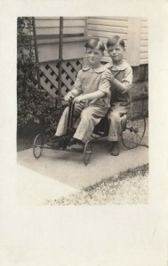 RP: Twins in a pedal Car , 00-10s
