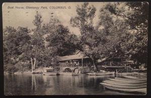 Boat House, Olentangy Park, Columbus, OH. 1909