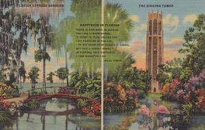 Florida Lake Wales The Singing Tower And Cypress Gardens Happiness In Florida