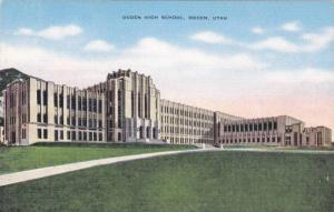 Exterior, Ogden High School,Ogden,Utah,30-40s
