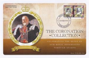 King Edward VII Cook Islands Royal Coronation First Day Cover