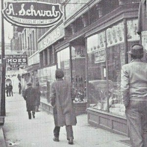 1939 A. Schwab General Store (163 Beale St Memphis Tennessee) Pinstein Shoes